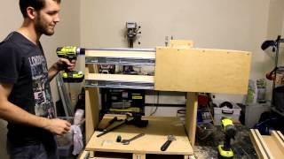 Cheap And Easy CNC Build Part 1 How To Make Stuff With Cameron Ep 3