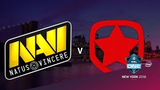 Na`Vi vs Gambit - ESL One NY 2018 - map1 - de_nuke [ceh9, CrystalMay]