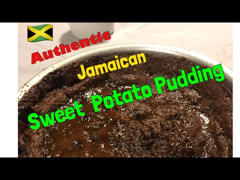 Authentic Jamaican Sweet Potato Pudding (made by my 81yr old Aunt) | Hello Sweet Biscuit