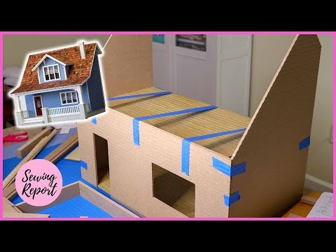 Building a Dollhouse: Dry Fitting + Supplies | Beachside Bungalow Kit Episode 1 | SEWING REPORT