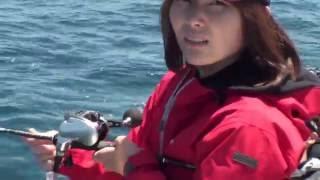 釣りガール 村田さん「3年越しの夢を叶えた瞬間」
