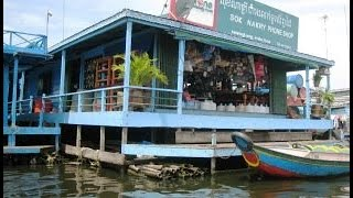 Khmer Travel - Kampong Chhnang Floating Village, Camb