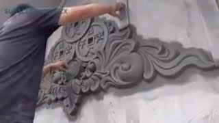 Video Amazing Easy Construction- ( NICE CURVE ) Rendering Sand and Cement MP3, 3GP, MP4, WEBM, AVI, FLV Agustus 2018