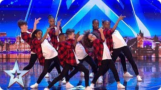 Video The next generation of dance legends? Meet DVJ... | Auditions Week 1 | Britain's Got Talent 2018 MP3, 3GP, MP4, WEBM, AVI, FLV Juni 2018