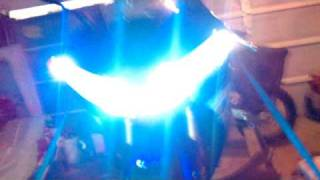 9. 2006 Yamaha YZF-R1 headlights with HID's and LED's