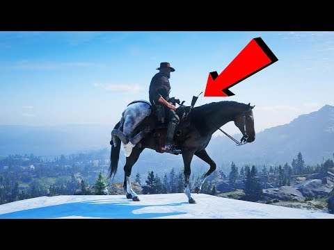 Red Dead Redemption 2 - Funny Moments Compilation! #6 видео
