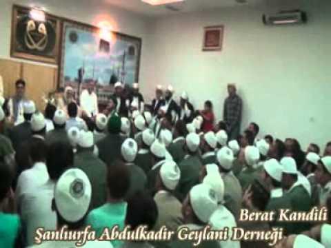 Şeyh Ahmed el Kadiri Berat kandili