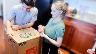 PACKING OUR FIRST BOX!!