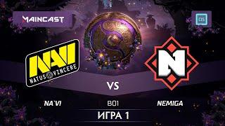 NA`VI vs NEMIGA (карта 1), The International 2019 | Закрытые квалификации