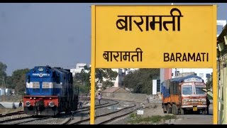 Daund India  City new picture : DAUND to BARAMATI : A Rarely Captured Section of INDIAN RAILWAYS