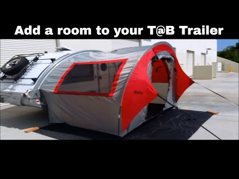 How to install the outside kitchen on a R-POD or T@B trailer