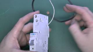 Fitting an RCBO in a Consumer Unit