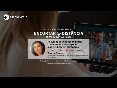 8.º webinar | Recursos Educativos Digitais: como promover e regular a aprendizagem autónoma