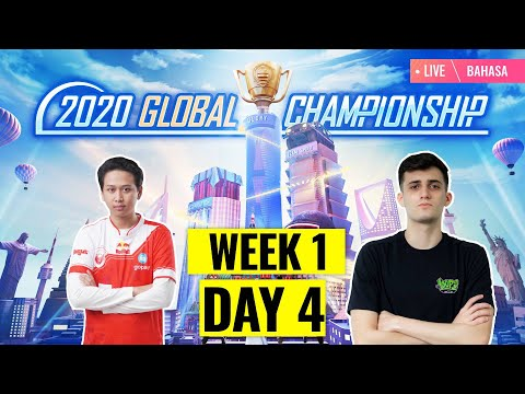 [Bahasa] PMGC 2020 League W1D4 | Qualcomm | PUBG MOBILE Global Championship | Week 1 Day 4