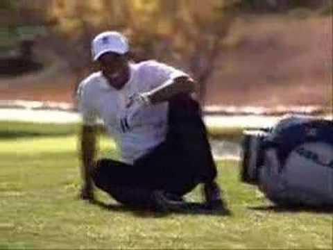 Tiger Woods Tackles Actor in Buick TV Commercial