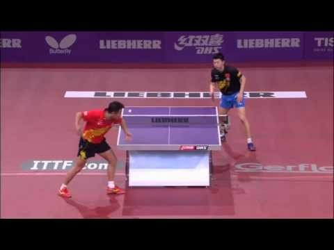 wang - Review all the highlights from the Ma Long vs Wang Hao Mens Singles Semi-Finals match at the 2013 World Table Tennis Championships in Paris, France. ©TMS Int...