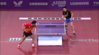 Table Tennis Highlights, Video - WTTC 2013 Highlights: Ma Long vs Wang Hao (1/2 Final)