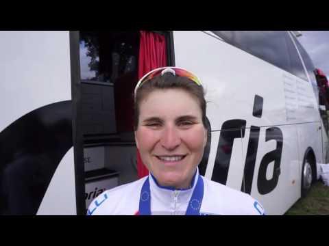 """#EuroRoad16 - Elisa Longo Borghini: """"Terza, un risultato che mi soddisfa"""""""