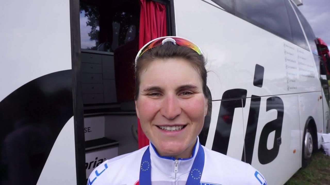 EuroRoad2016 - Elisa Longo Borghini racconta il terzo posto all'europeo