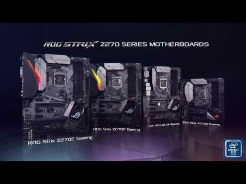Asus STRIX Z270G GAMING s1151 alaplap