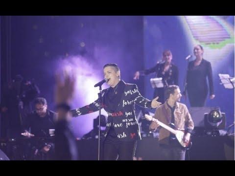 Anid Ćušić na koncertu Marije Šerifović na Koševu