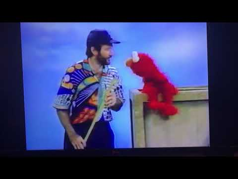 Robin Williams on Sesame Street with Elmo *OUTTAKES*