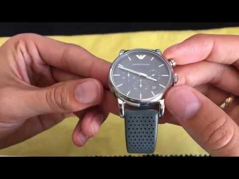Emporio Armani AR-1735 Chronograph Men's Watch- Full Review