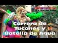 La Carrera de Tacones y la Batalla de Agua en el Orgullo de Madrid