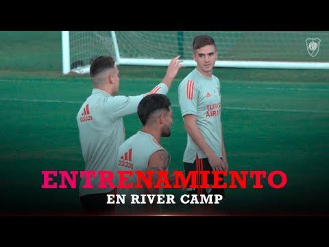 Palavecino y David Martínez: primer día con sus nuevos compañeros