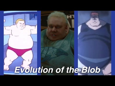 Evolution of the Blob in Movies and Cartoons in 5 Minutes (2020)