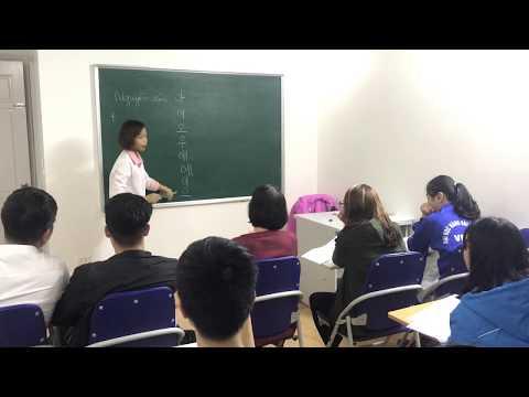 Lớp tiếng Hàn cấp tốc