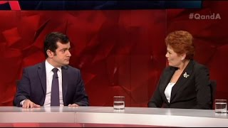 "Video ""Are you a Muslim?"" Pauline Hanson surprised at Senator Sam Dastyari's faith MP3, 3GP, MP4, WEBM, AVI, FLV Januari 2018"
