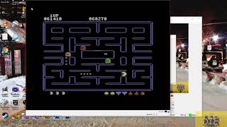 Pac-Man [Apple start] (Commodore 64 Emulated) by MikeDietrich