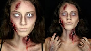 Nonton Zombie Halloween Makeup Tutorial! Film Subtitle Indonesia Streaming Movie Download