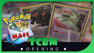 Papa Blastoise Opening Pokemon TCG Mail ! NM- M Espeon and Umbreon Gold Stars ? by Papa Blastoise