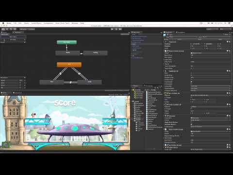 4.3 - We take an in-depth look at how the 2D demo project was created to show off the new tools and workflows for 2D game development in Unity 4.3. More about Unit...