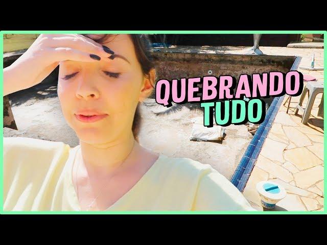 DIÁRIO DA REFORMA#1 - LIMPEZA E COMPRINHAS - Taciele Alcolea