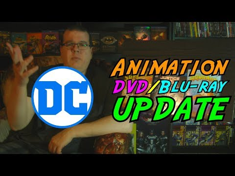 DC Comics Animation DVD/Blu-ray Update