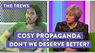 George Monbiot and I analyse Theresa May's recent appearance on The One Show, with her husband.  My new tour Re:Birth is coming to YOUR town - go to http://russellbrand.seetickets.com/tour/russell-brandListen to my new podcast Under The Skin here https://itunes.apple.com/au/podcast/under-the-skin-with-russell-brand/id1212064750?mt=2Subscribe to the Trews here: http://tinyurl.com/opragcgProduced & edited by Gareth RoyTrews Music by Tom Excell & Oliver CadmanTrews Graphic by Ger Carney