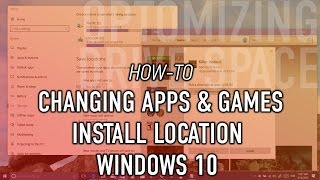 Hi, In this quick tutorial I am going to show you how to change default location of your apps , document , videos and pictures in windows 10. This is very helpful when you don't have enough space in your partition or disk :).-----------------------------------------------------------------------------------------------------------Paypal Donation(1 dollar or less can be nothing for you but it will certainly help to get new equipment and continue working, so please if you feel that I deserve it don't hesitate and donate and let us grow together )----------------------------------------­­­­­­­­---------------------------------­-­-­-­-­-­-­-­--------------------------­-Facebook : https://www.facebook.com/pr0t3ch/Twitter:https://twitter.com/g33kyworldWebsite :http://www.t3chpro.com/-----------------------------------------------------------------------------------------------------------change default location of your apps , document , videos and pictures in windows 10change default location of your apps , document , videos and pictures in windows 10change default location of your apps , document , videos and pictures in windows 10change default location of your apps , document , videos and pictures in windows 10change default location of your apps , document , videos and pictures in windows 10
