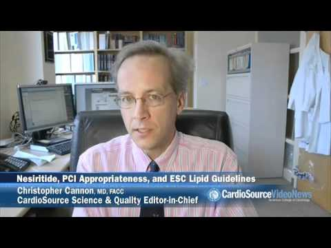 Nesiritide, PCI Appropriateness and ESC Lipid