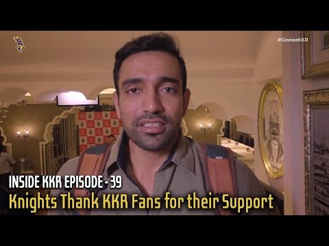 Knights Thank KKR Fans for their Support | Inside KKR - Episode 39 | VIVO IPL 2016