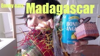 Tasting Malagasy sweet and savory treats sent to me from viewer Little Miss R in this episode of Emmy Eats Madagascar. Join the Emmy League of ...