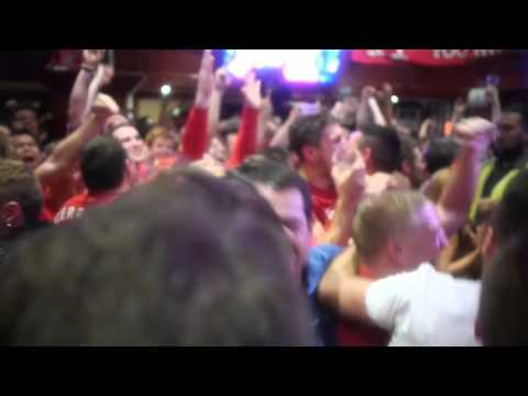Cheers Bar Goes Mental. Liverpool Vs Norwich 20/04/14