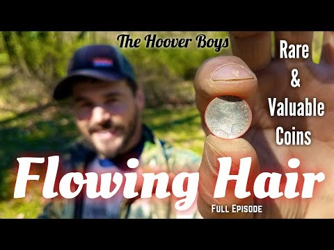 Metal detecting rare valuable coins & gold | Flowing Hair