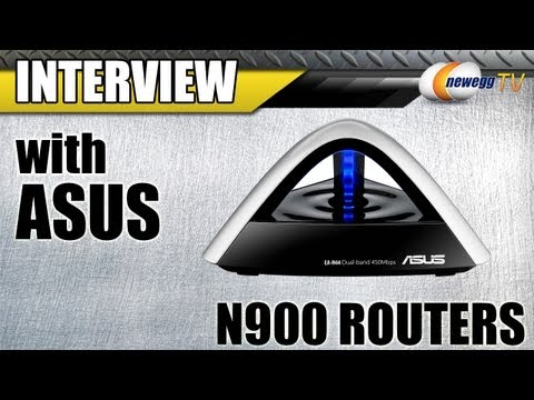 Newegg TV: ASUS EA-N66 & USB-N66 Dual-Band Wireless N900 Gigabit Routers Overview w/Interview