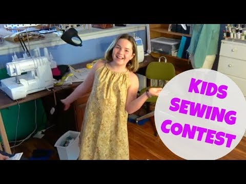 Congrats to Annie, Winner of Our Kids Sewing Contest