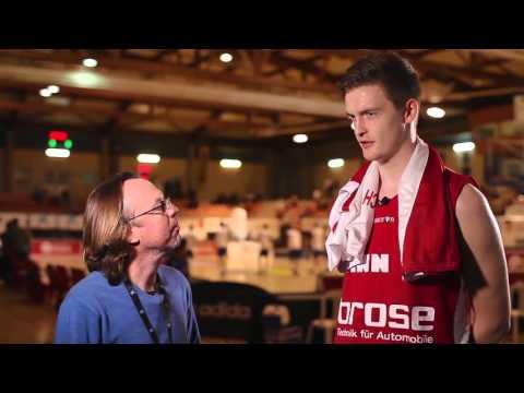 ANGT L'Hospitalet interview: Moritz Sanders, Brose Baskets Bamberg