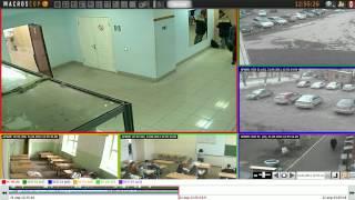 Видео. Демонстрация работы ПО Macroscop