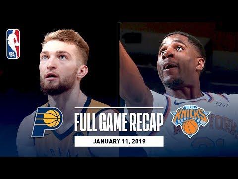 Video: Full Game Recap: Pacers vs Knicks | Domantas Sabonis Drops 22 & 15 In The Garden